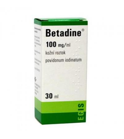 BETADINE solution 30ml