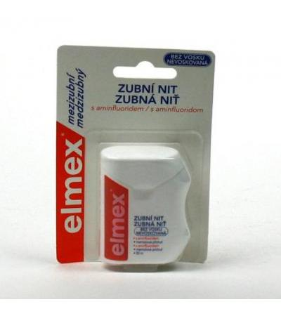 ELMEX dental floss non-waxed 50m