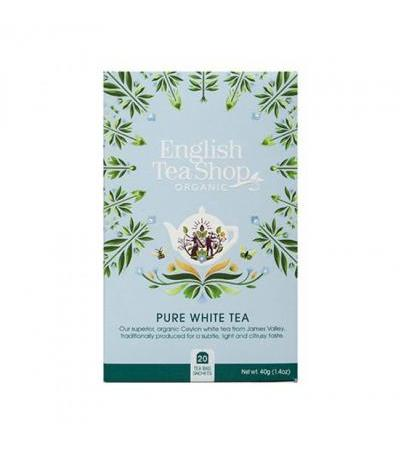ENGLISH TEA SHOP White tea 20 bags