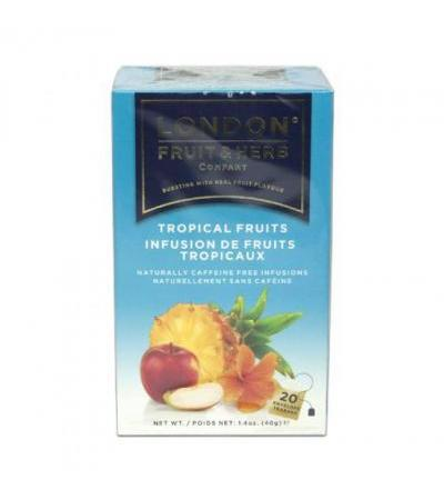 London FRUIT&HERB tropical fruit infusion tea 20 bags
